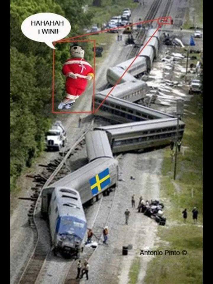 desastre sueco luiz vizeu