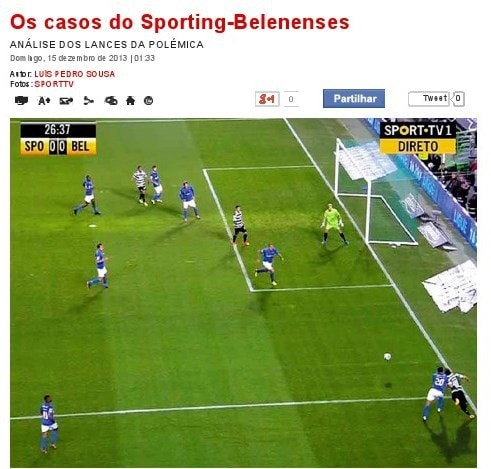 casos do Sporting-Belenenses