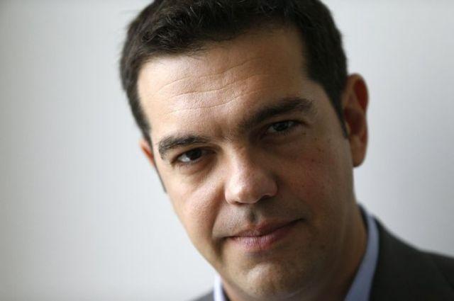 Alexis_Tsipras © Libération