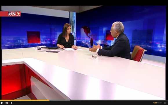 ana_lourenço_entrevista_antonio_costa_SIC_N_6NOV2015