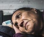 Mulher cigana vive em carrinha