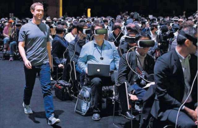 realidade virtual zuckerberg