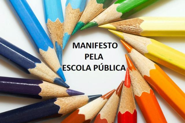 manifesto pela escola pública