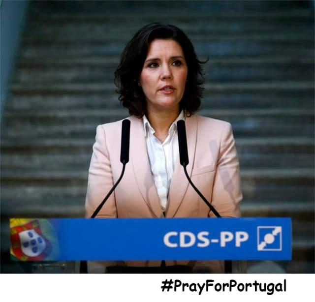 Assunção Cristas anuncia candidatura à presidência do CDS-PP