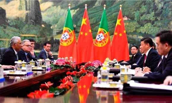António Costa recebido pelo líder chinês, Xi Jinping
