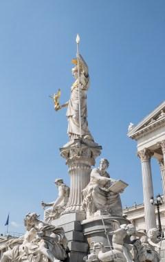 Viena escultura parlamento