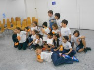 The 3rd grade class.