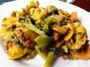 pasta salchicha brocoli