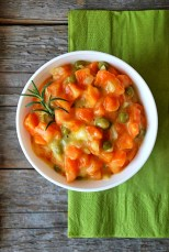 Zanahorias con guisantes