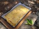 pastel salado con calabacines queso y embutidos