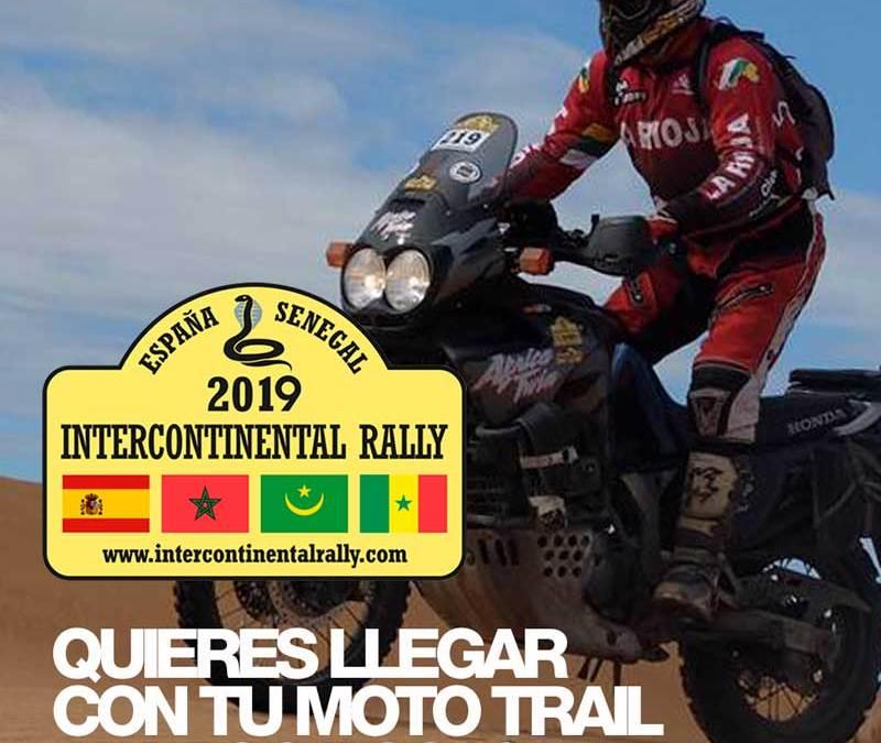 Vente a Dakar con tu moto trail
