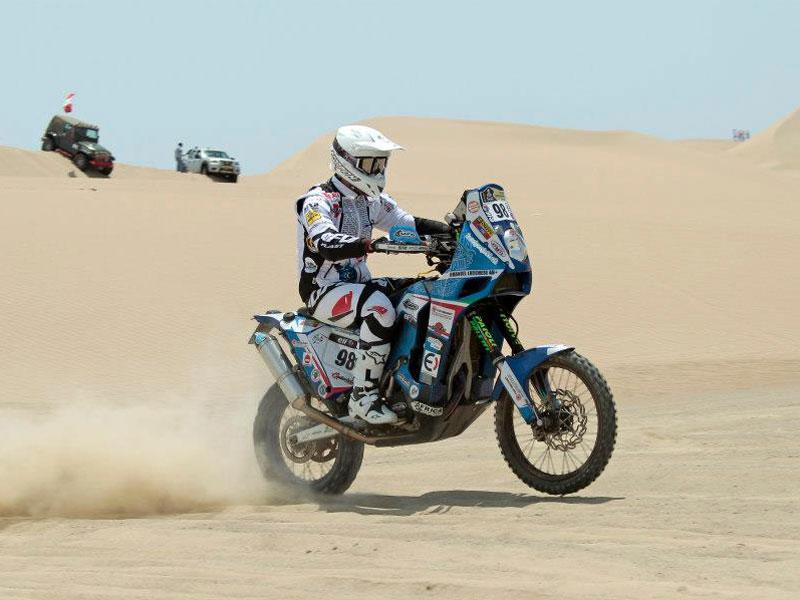 ¿Quieres seguir el Merzouga Rally en moto?