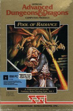 Jogos - Pool of Radiance (capa)