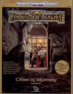 Acessório - Cities of Mystery (FR8) (capa)
