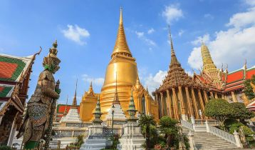 Wat Phrakaew Temple, Bangkok, Thailand
