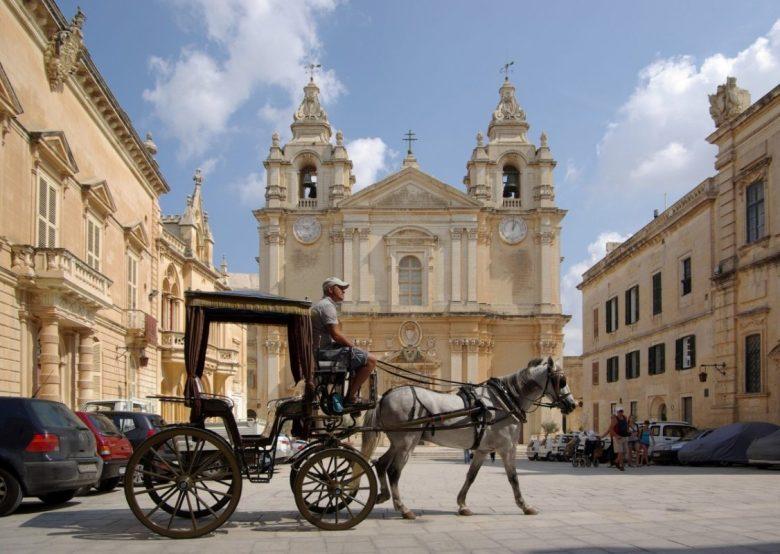 Malta, Mdina, Kathedrale St. Paul