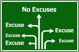excuses réussir