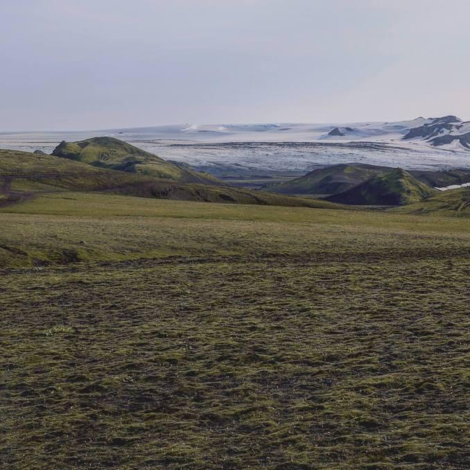 Glacier du Myrdasjökull, par Leo