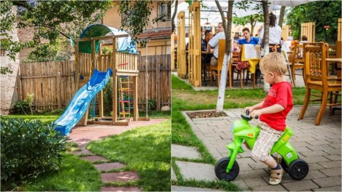 Aventuri in cinci Terase cu loc de joaca Cluj Livada