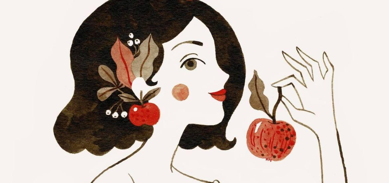 Aventuri in cinci Fata cu crti si mere Oana Befort apple