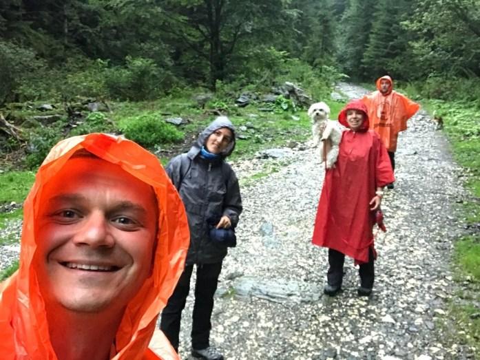 Aventuri in cinci Echipament ploaie munte (10)