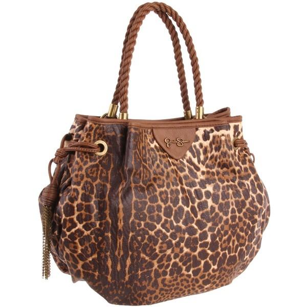 Leopard cheetah boho Jessica Simpson Gia Tote