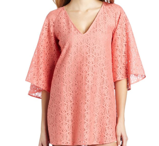 Corey Lynn Calter Womens Christine Lace Dress