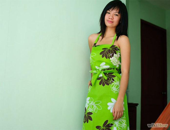 How to make a dress from a fitted bedsheet wiki how image