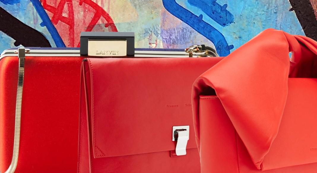 Top 5 designer red clutches