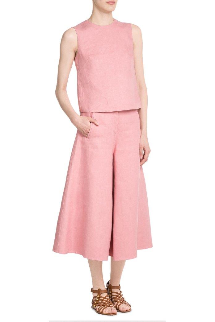 VALENTINO Linen Culottes