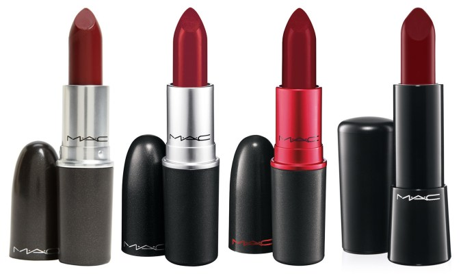 wine red burgundy lipstick
