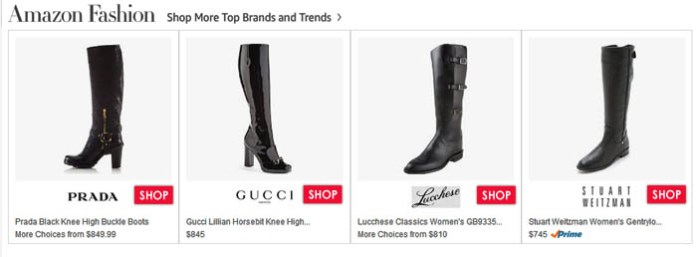 black knee high boots Amazon