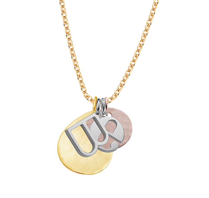 monica vinader alphabet pendant necklace