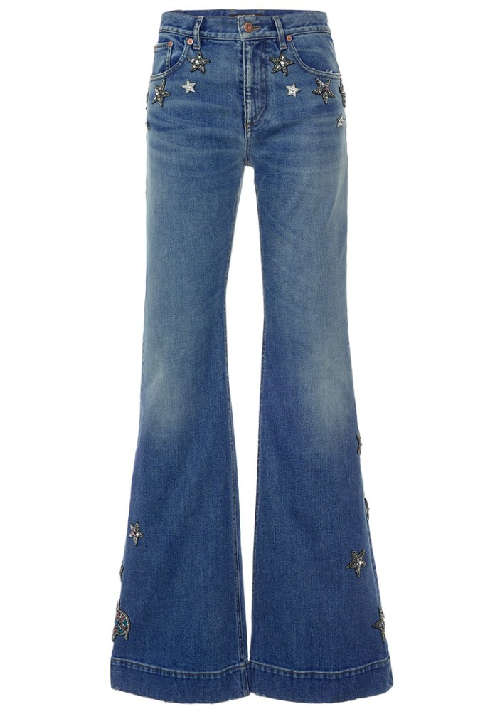 Roberto Cavalli High Rise Flared Jeans
