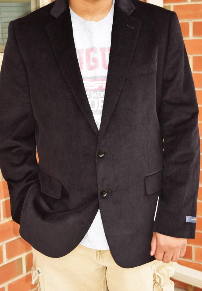 stocky build sport coat