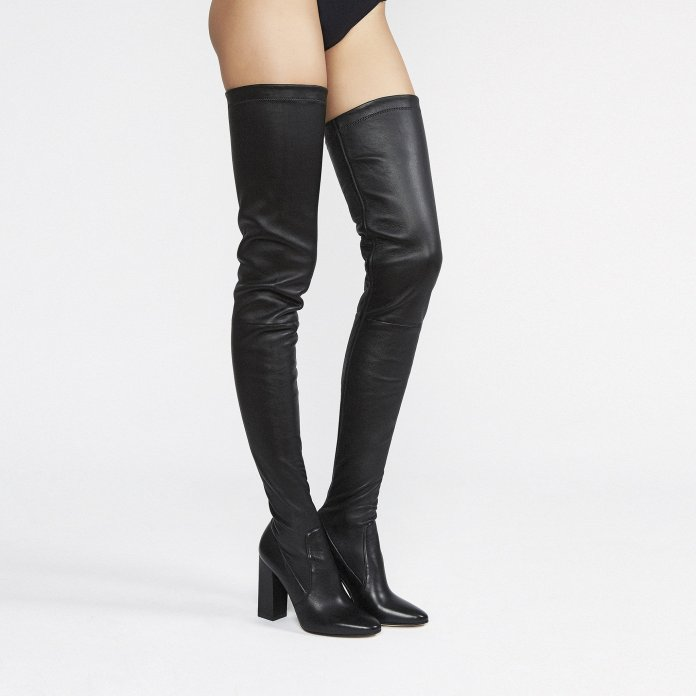 Tamara Mellon Helmut thigh high stretch nappa leather boots