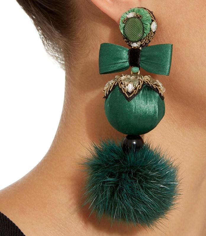 Stylish clip on earrings - Ranjana Khan earrings