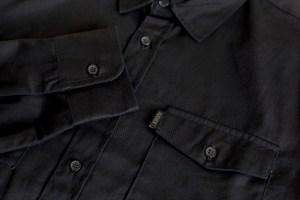 Black Work Shirt Detail