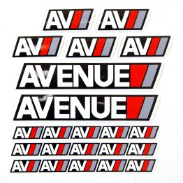 AV Sport Sticker Pack
