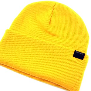 Avenue Staple Beanie Detail Gold