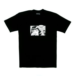 Avenue Boyfriend T-Shirt Black