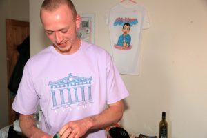 Harmony T-Shirt Lavender Beer Reup