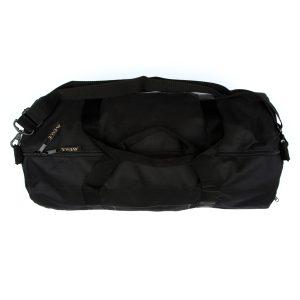 Laundering Black Duffel Bag