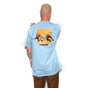 Knockout T-Shirt Pale Blue