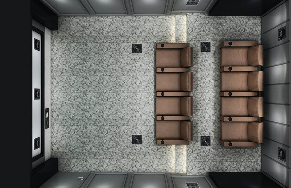 St. Clair Theater Layout