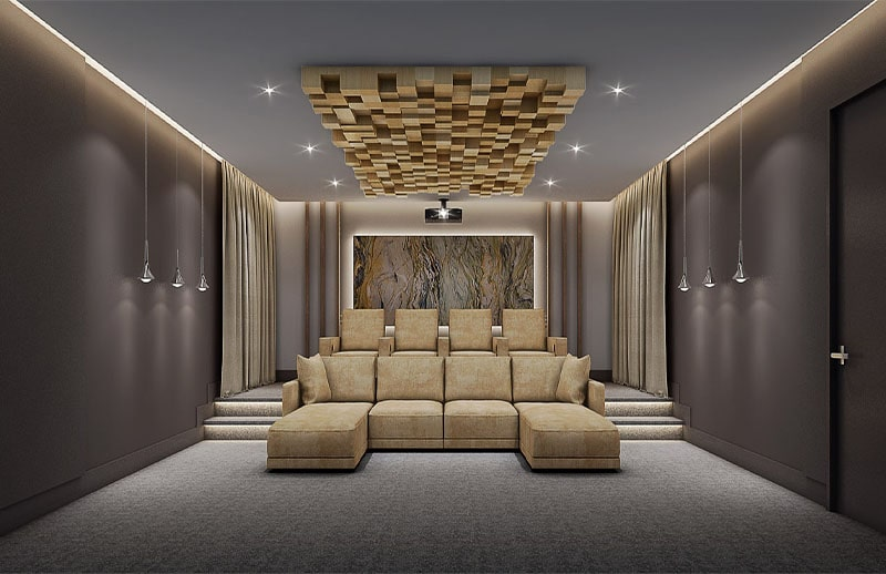 Eglington Ave Custom Home Theater
