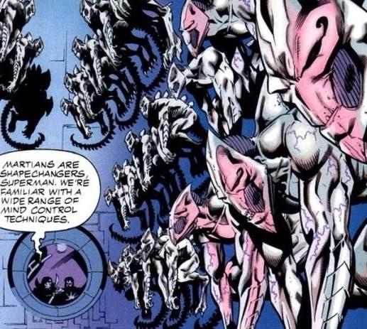 Martian Manhunter killed White Martians with his telepathy