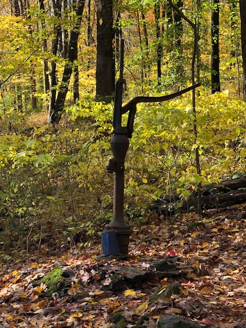 Hand Pump on the Appalachian Trail