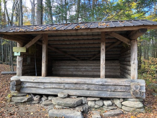 Ten Mile River Shelter on the Appalachian Trail