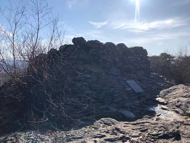 Wall on Bear Mountain